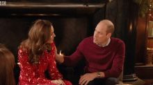 Kate Middleton Was Caught Shrugging Off William's PDA In Awkward Video