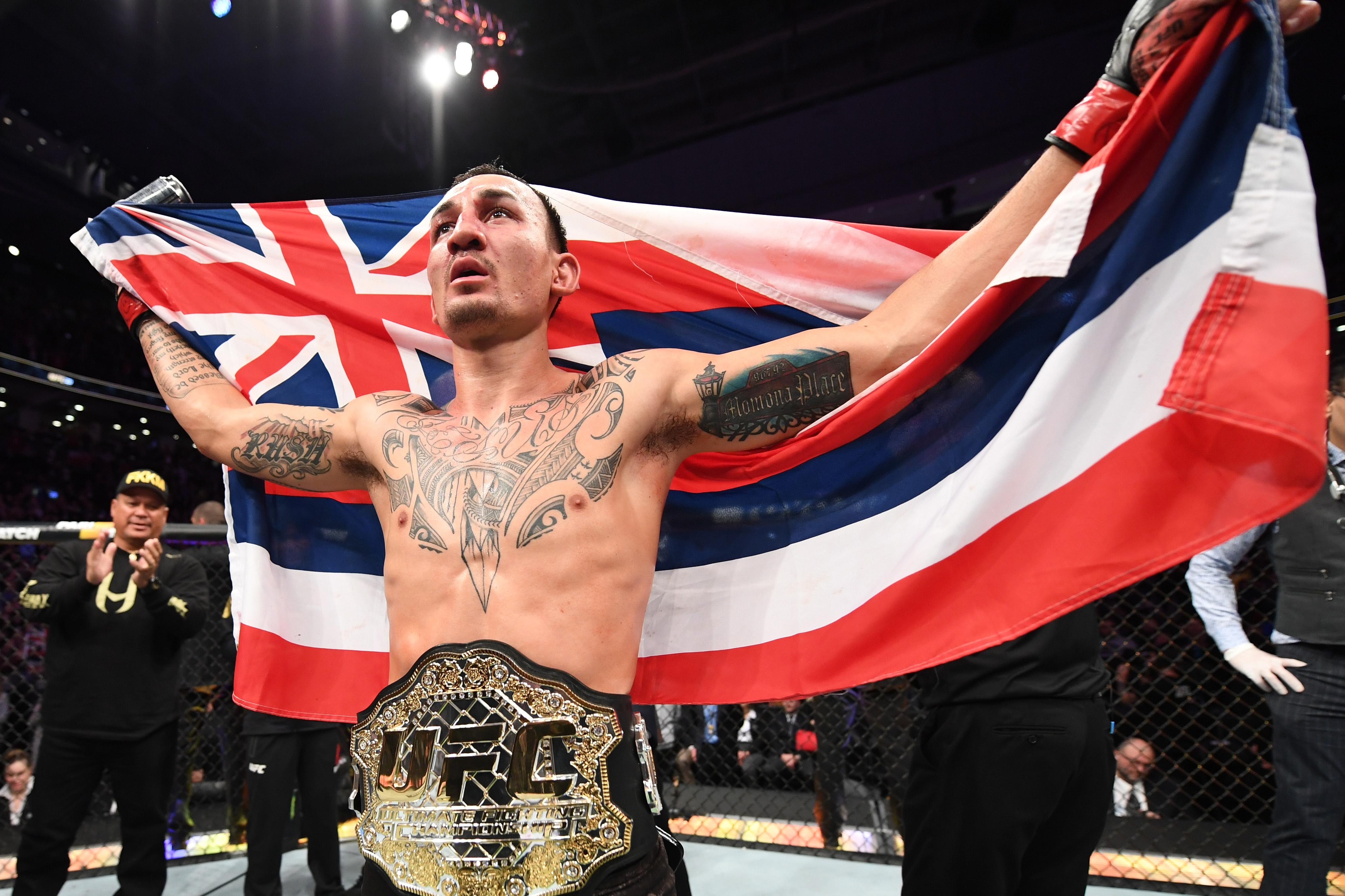 Max Holloway deserves to fight at home in Hawaii, but will he move up to face Conor or Khabib?