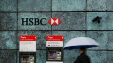 HSBC doubles profit, hints at share buybacks as bad loan fears ease
