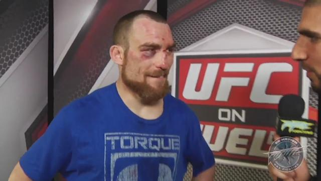 Pat Healy says he could jump over Prudential Center after win against Jim Miller at UFC 159