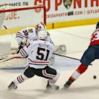Florida Panthers hold off desperate Chicago Blackhawks with overtime win