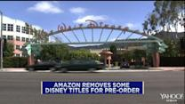 Amazon, Disney in public dispute