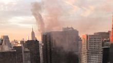 Trump Tower fire: NYFD extinguish blaze 'started by AC unit fault' which left two injured