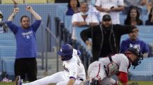Taylor's homer propels Dodgers to 9-5 win over Nationals