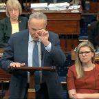 Democrats finish full day of presentations in Trump impeachment trial – Updates