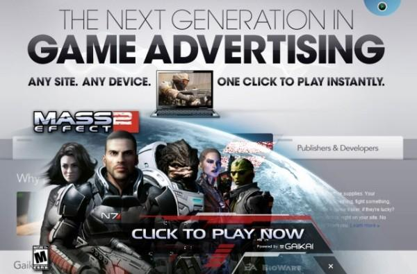 Gaikai beta goes live, brings Mass Effect 2, Dead Space 2, Sims 3 and Second Life demos to your browser window
