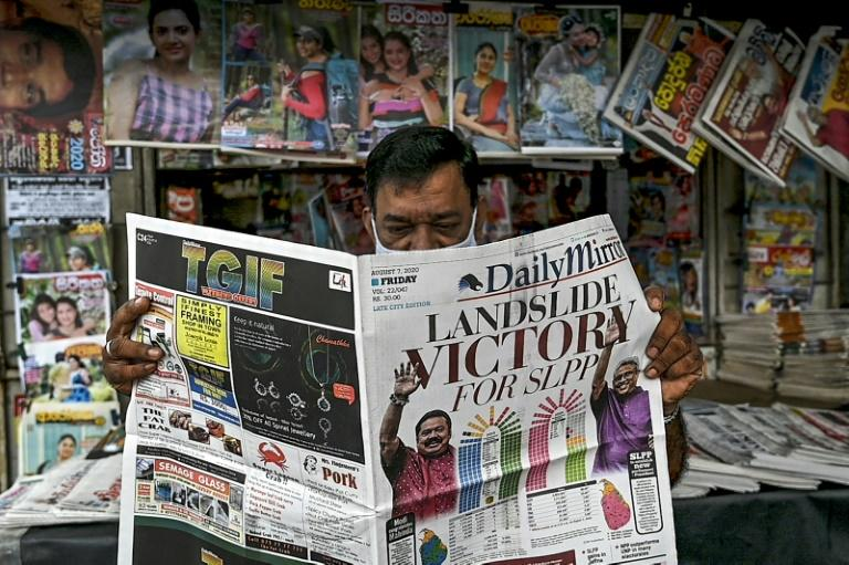 Rajapaksa's Sri Lanka Podujana Party (SLPP) won 145 seats in Wednesday's election