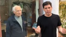 Mel Brooks and son go viral with their social-distancing video