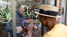 'The initial reaction was just joy': window therapy brings light to aged care residents