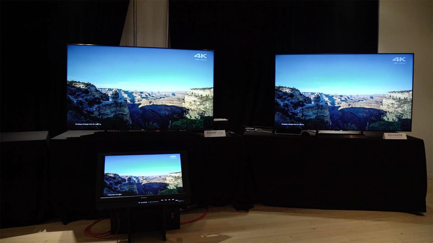 sony x900f 2018 4k hdr tv hands on preview. Black Bedroom Furniture Sets. Home Design Ideas