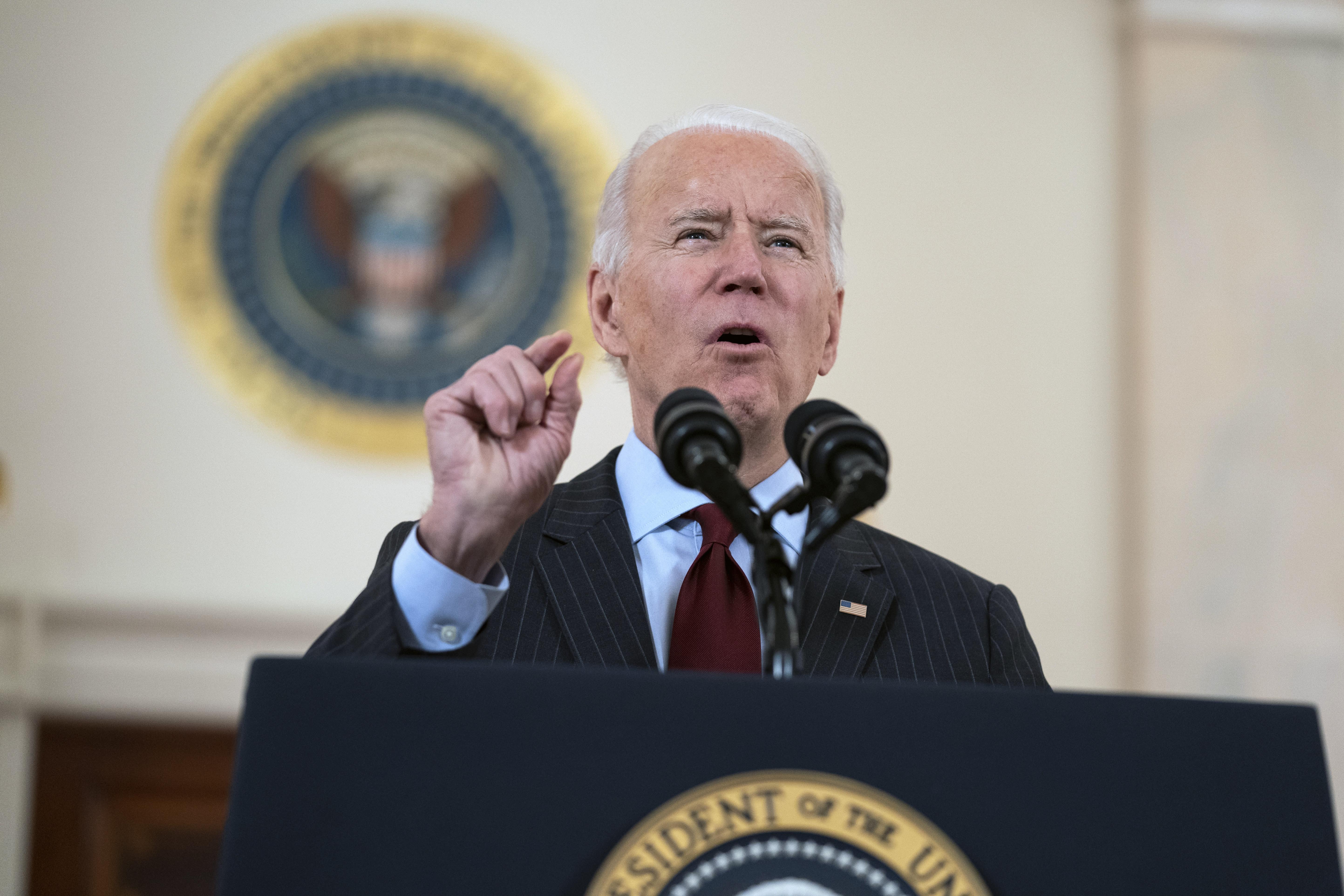 AP FACT CHECK: Biden on virus deaths, Kerry's climate crisis