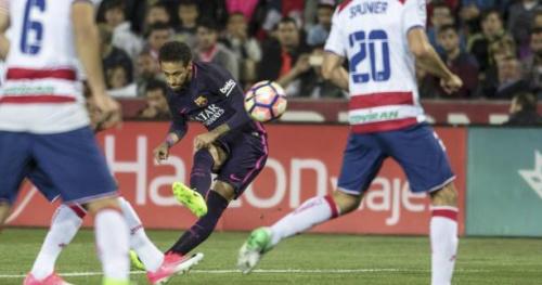 Foot - ESP - Barça - Espagne : Neymar a inscrit son 100e but avec le maillot du Barça