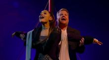 Ariana Grande And James Corden's 'Titanic' Musical Would Make Celine Dion Proud
