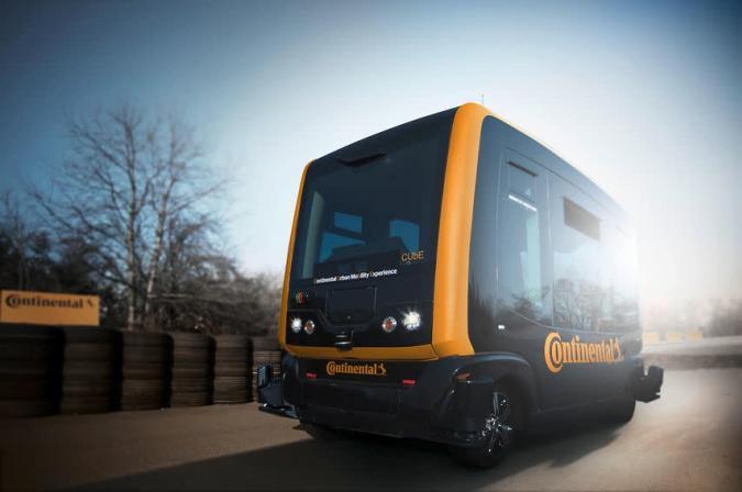 CUbE: Continental entwickelt autonome City-Kapsel