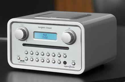Tangent's Cinque radio does DAB and more on your tabletop