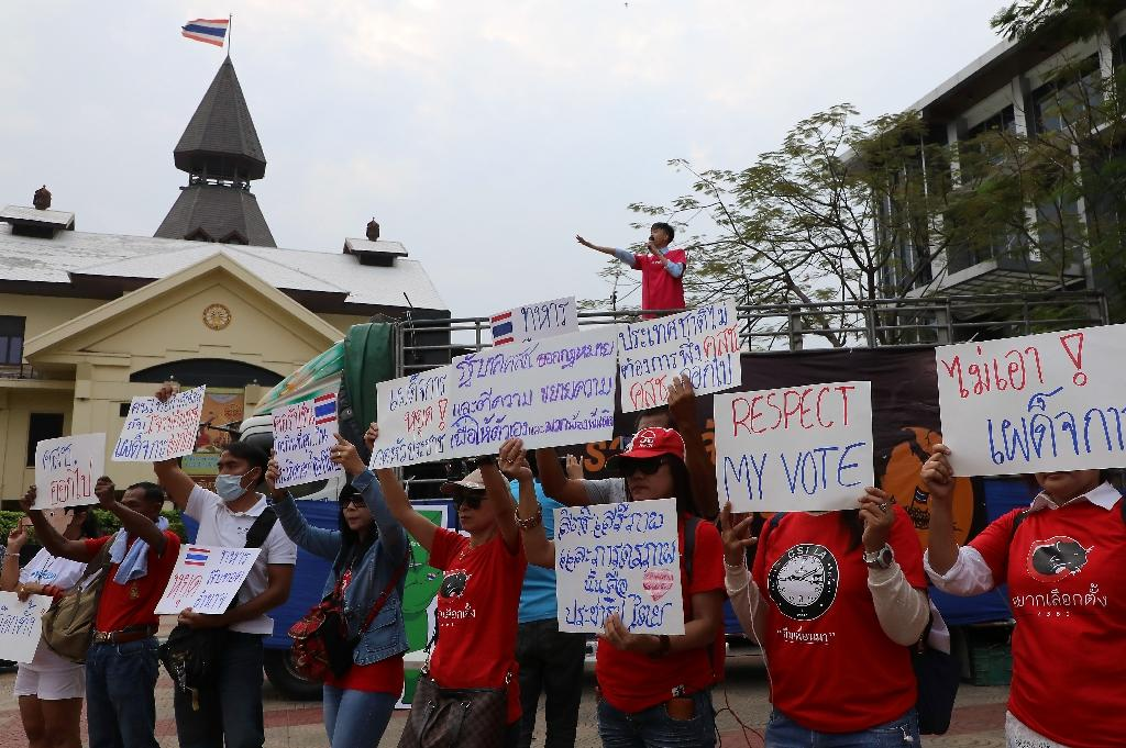 Hundreds join antijunta rally in Bangkok as calls for democracy grow
