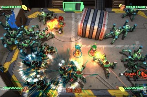 Twin-stick shooter Assault Android Cactus is looking sharp