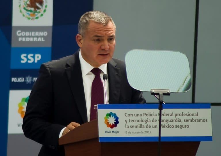 Mexico's ex-public security minister Genaro Garcia Luna denies taking huge bribes from a drug cartel