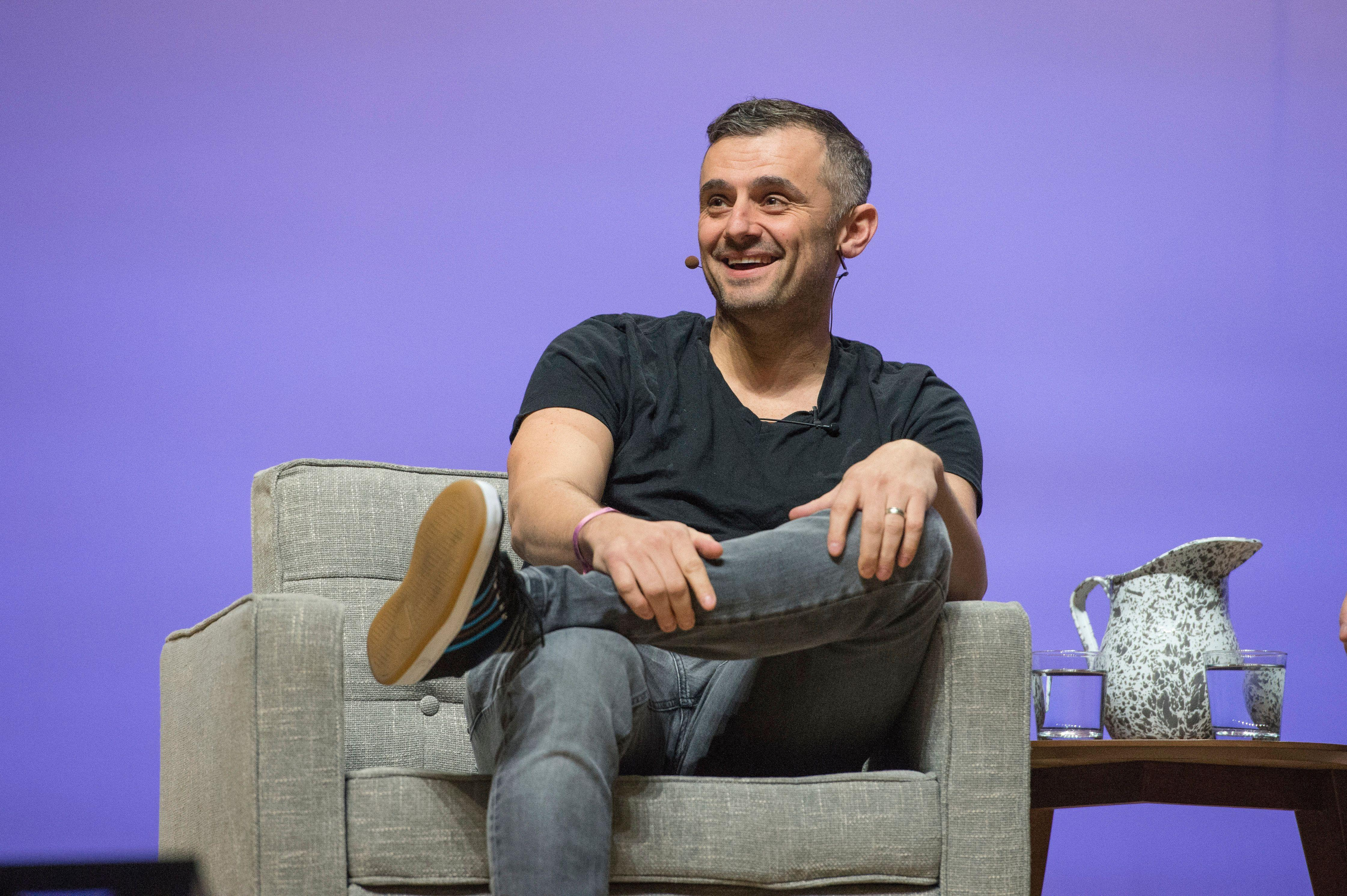 'You suck' if your business isn't successful in this strong economy, says tech investor Gary Vaynerchuk