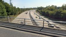 Teenager found with serious injuries in middle of M27 motorway lane