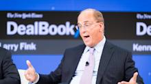MARKETS: BlackRock beats on profits, Fink warns of 10-15% stock market meltdown