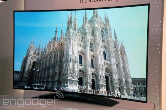 LG's 77-inch curved OLED 4K TV is every bit as expensive as it sounds