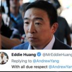 Andrew Yang Receives Backlash After Tweeting in Support of Israel