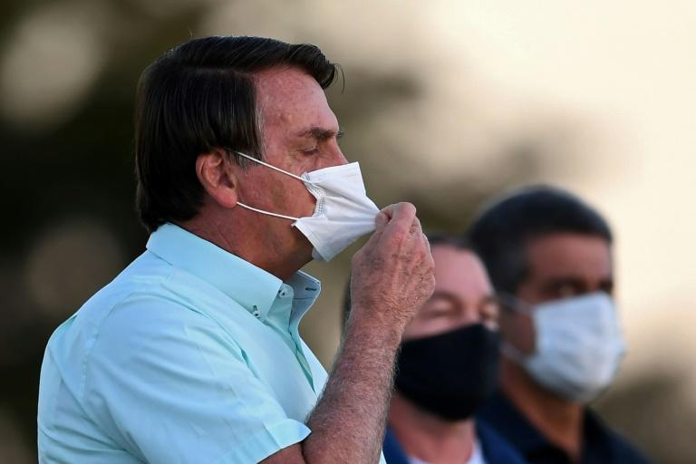 Brazilian President Jair Bolsonaro announced on Saturday he has tested negative for the new coronavirus more than two weeks after being diagnosed (AFP Photo/EVARISTO SA)