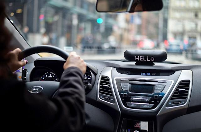 Lyft's dashboard display helps drivers with hearing impairments