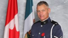 Const. John Davidson's celebration of life takes place in Abbotsford, B.C., today