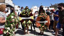 La preciosa declaración de amor de Paz Padilla a su marido en una corona de flores