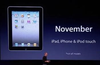 iPad OS will be revved to 4.2 in November, unifies the line