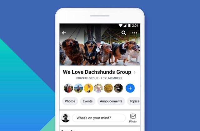 Facebook will shut down Group Stories on September 26th