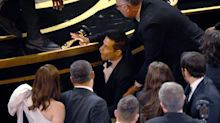 Rami Malek Treated by Paramedics After Falling Off Oscars Stage Following His Best Actor Win