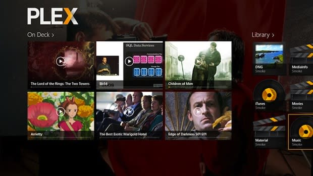 Plex launches native Windows 8 app with ARM support, latest filtering features