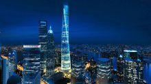 中國最高大樓觀景台開放 極速升降機55秒登頂