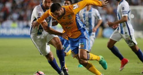 Foot - C1 - Concacaf - Concacaf : André-Pierre Gignac et les Tigres perdent la finale de la Ligue des champions contre Pachuca