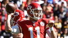 Chiefs' Alex Smith may be changing game with addition of Patrick Mahomes