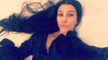 Kourtney Kardashian Shares a Stunning Fresh-Faced Selfie