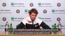 Tennis - ATP - Roland-Garros : Dominic Thiem : « J'ai donné tout ce que j'avais »