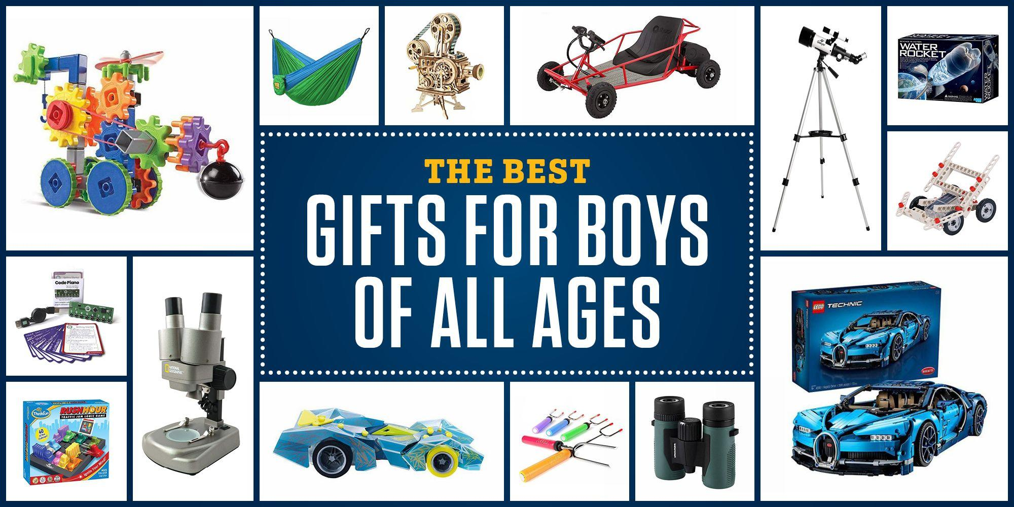 <p>Fledgling geniuses deserve gifts that match their geeky interests. With everything from puzzles and robots to model trains and DIY experiments, the educational toy market is bound to have something for the science-minded boys in your life. Here are 20 of our favorite toys and kits.</p>
