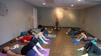 Yoga, acupuncture helps ease veterans' stress