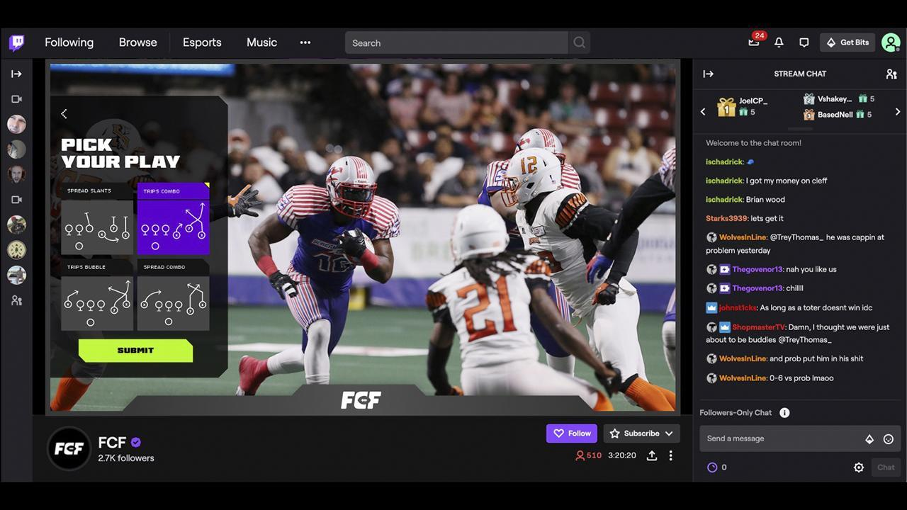 Twitch Combines Live Sports and Video Games in Fan-Controlled FootballPartnership