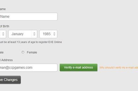 CCP adds email verification to EVE Online accounts