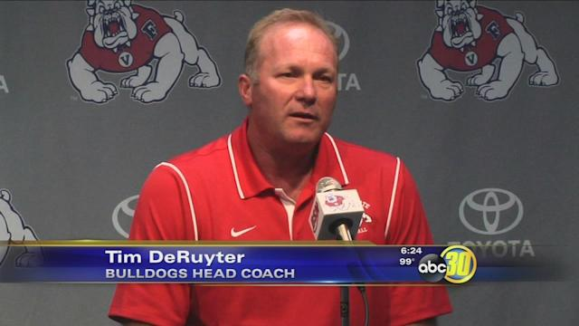DeRuyter Still Looking for Fresno State to Finish