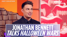 'Halloween Wars' host Jonathan Bennett reveals they shoot a year in advance: 'We have to work around pumpkin season'