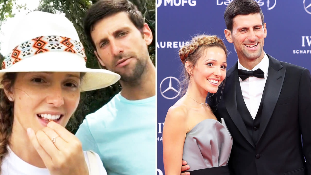 Jelena Djokovic Novak S Wife Has Video Deleted By Instagram