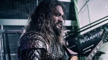 Jason Momoa Ready To Rock In Justice League Set Photo