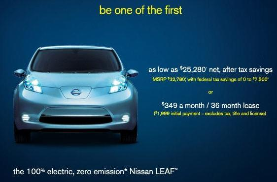 Nissan books 8,000 Leaf orders in nine days, gets turned on with that electric feel