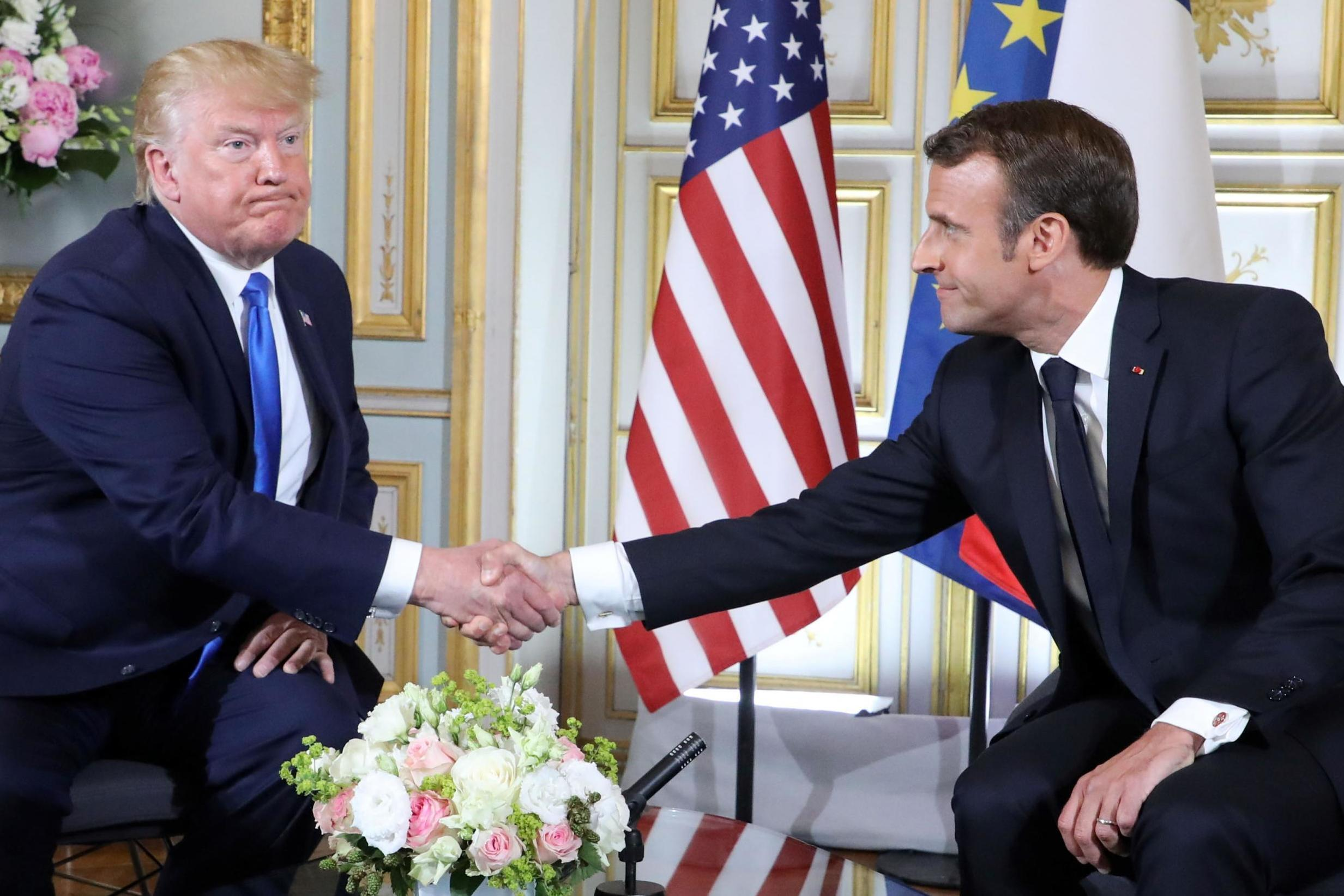 Trump threatens to retaliate for France's digital services tax